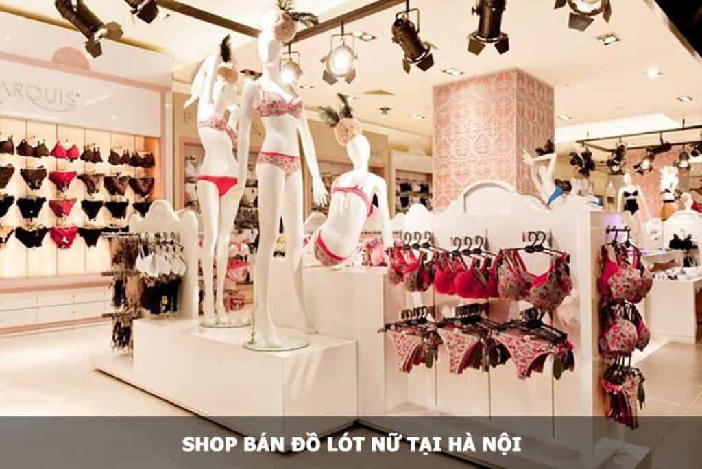 Shop bán đồ lót Nữ tại Hà Nội
