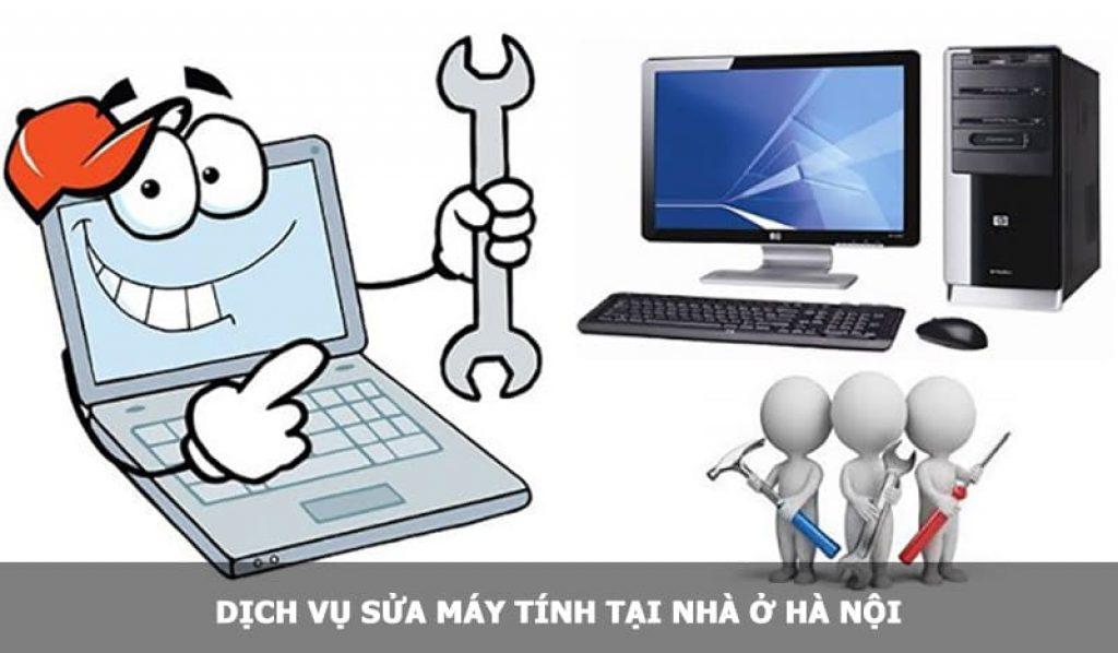Dịch vụ sửa máy tính tại nhà ở Hà Nội