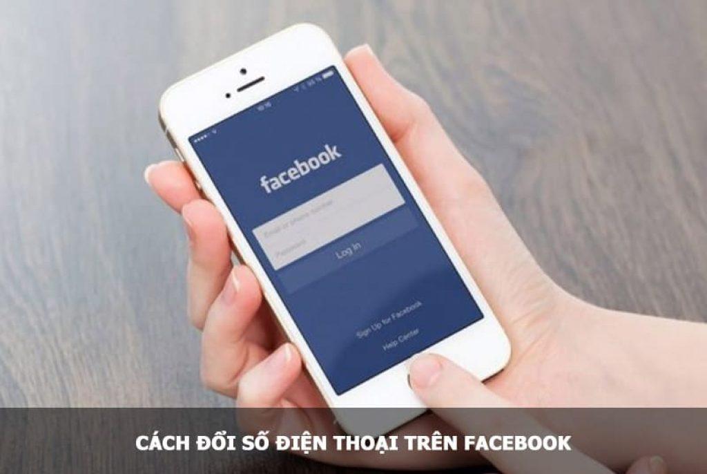 đổi số điện thoại trên facebook