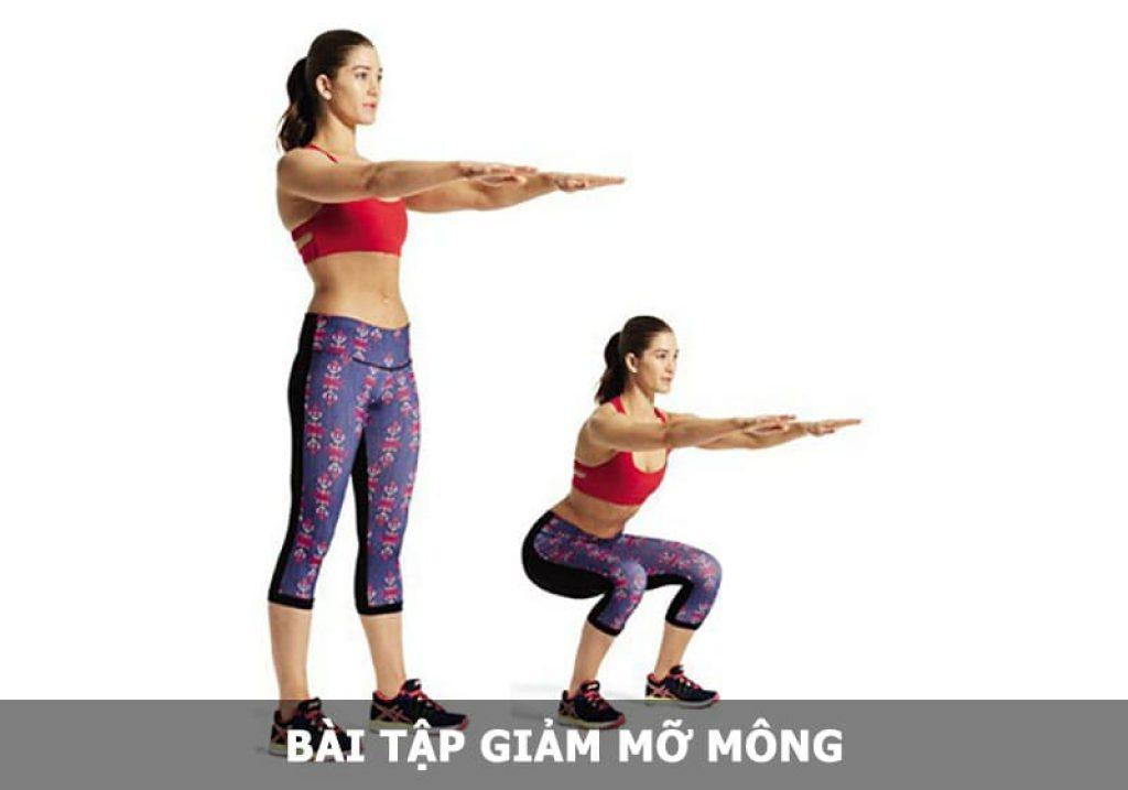 Bài tập giảm mỡ mông