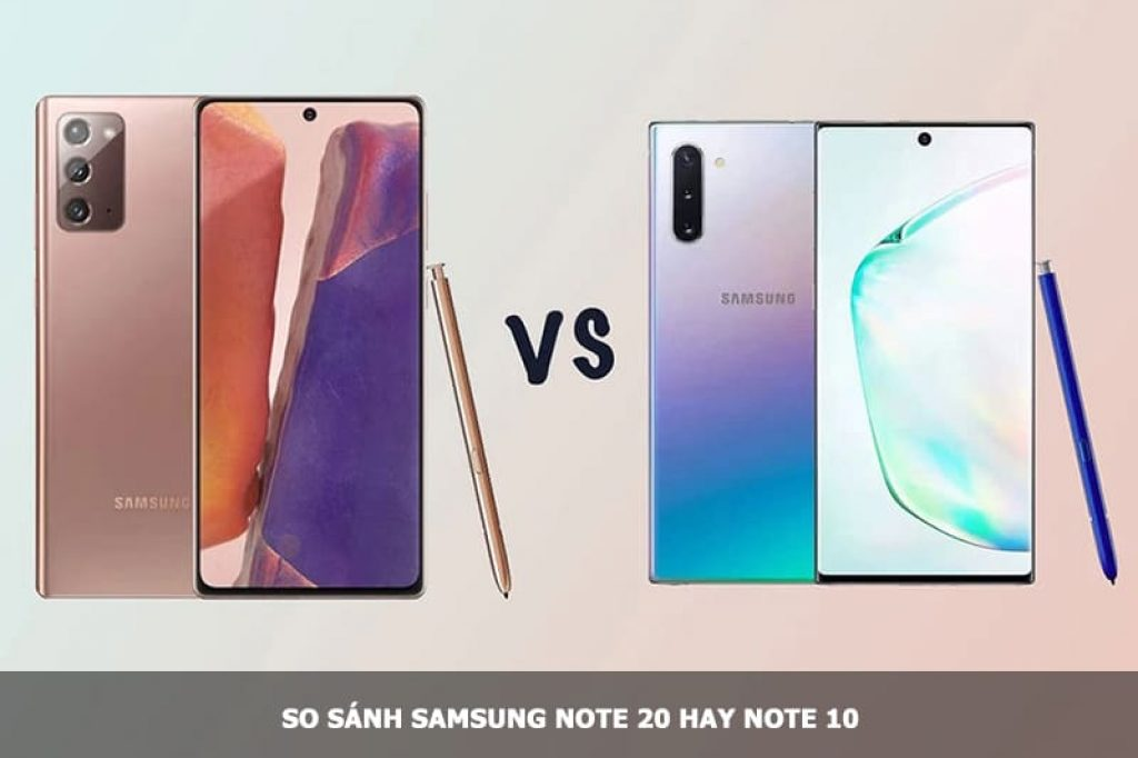Note 20 và Note 10