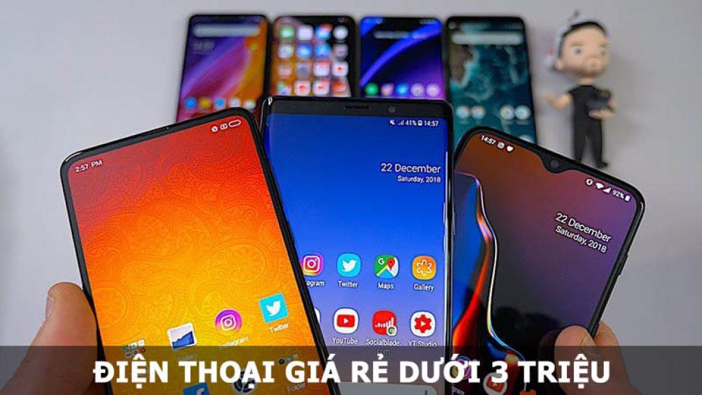 Điện thoại giá rẻ dưới 3 triệu