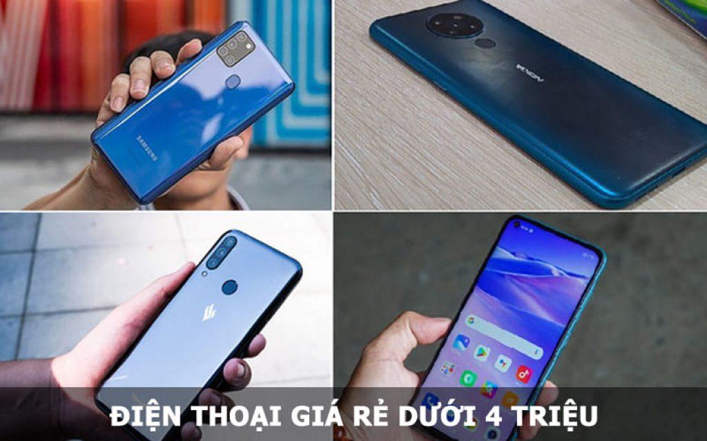 Điện thoại giá rẻ dưới 4 triệu