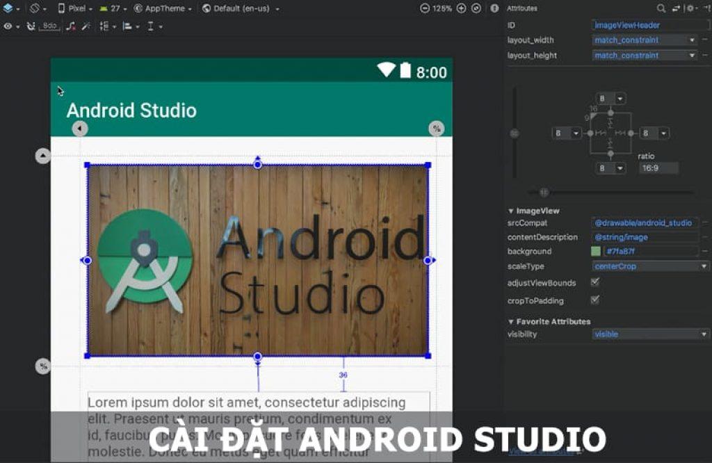 Cài đặt Android Studio