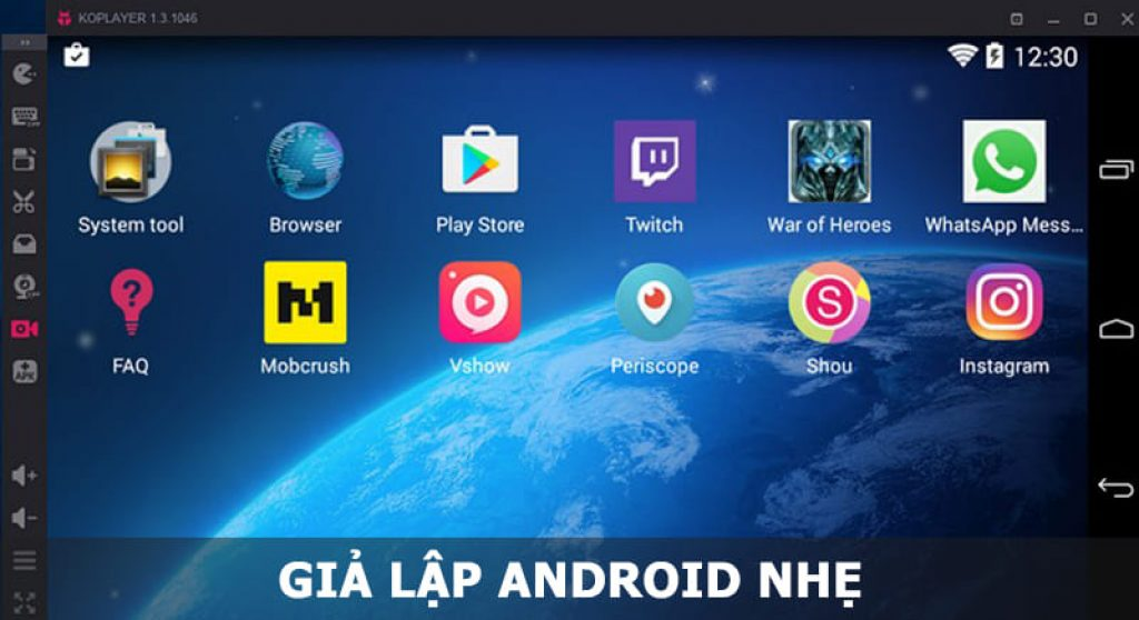 Giả lập Android nhẹ
