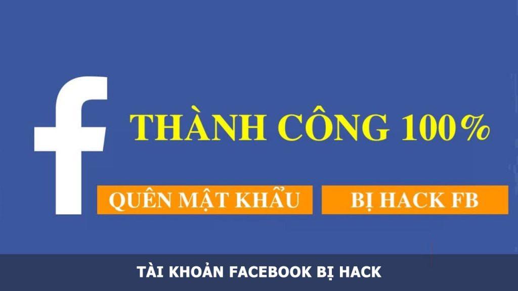 tài khoản Facebook bị Hack