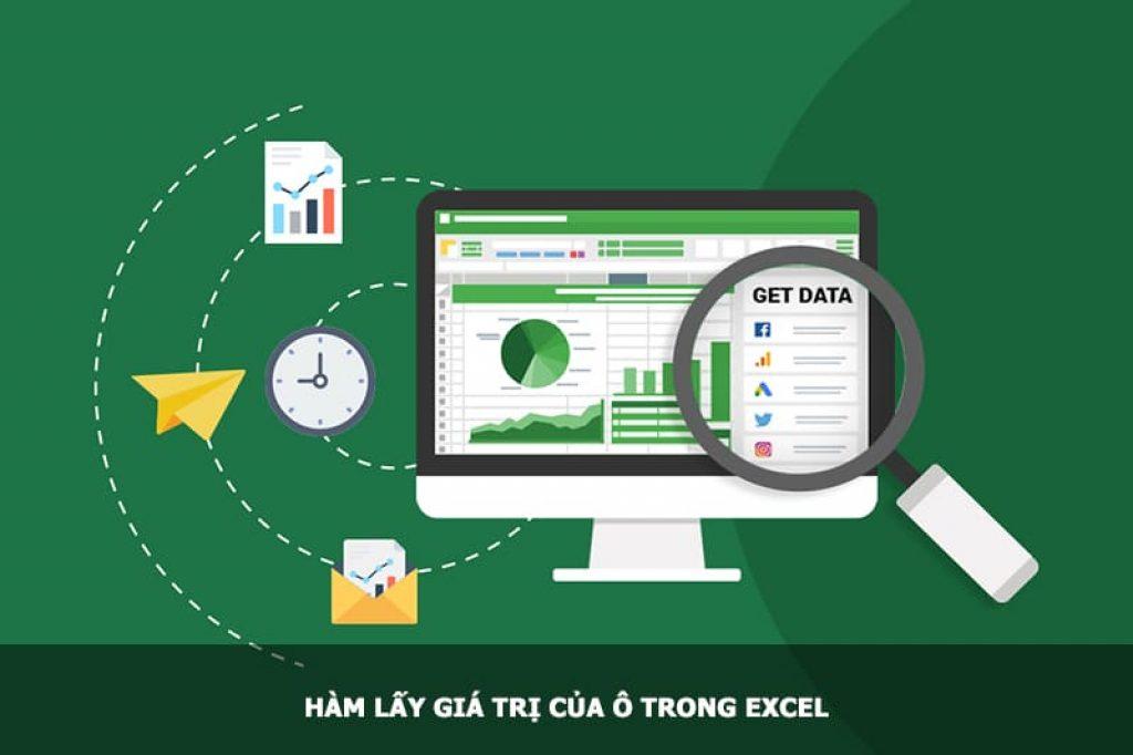 Hàm lấy giá trị của ô trong Excel