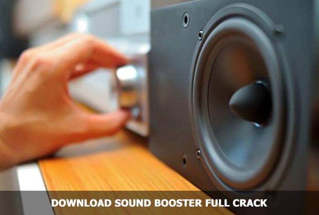 Download Sound Booster Full Crack