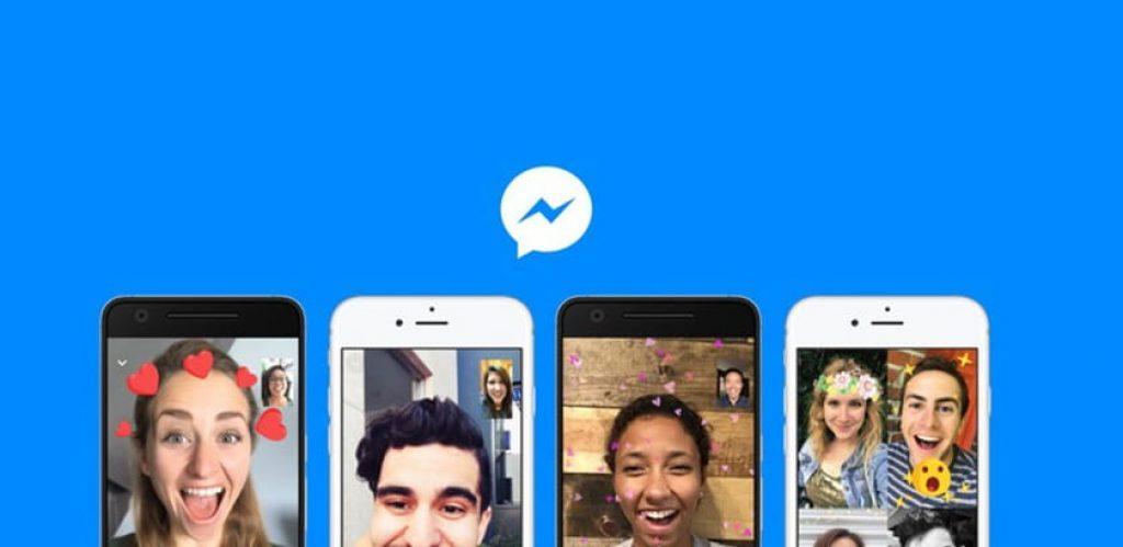 cách call video trên messenger có filter instagram